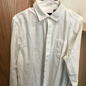 Five Four White Button Down Shirt